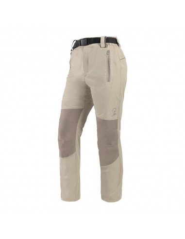 Pantalón outdoor rodilla elasticada ripstop 90% nylon 10% spandex mujer