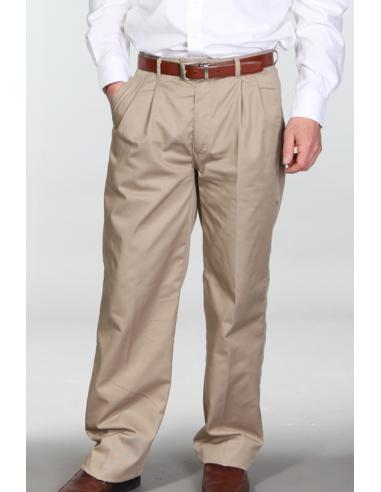 Pantalón tipo Dockers Beige
